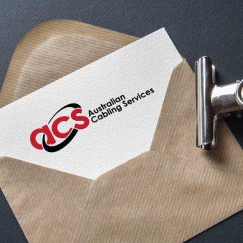 Logo Design Brisbane Portfolio-Australian Cabling Services ACS