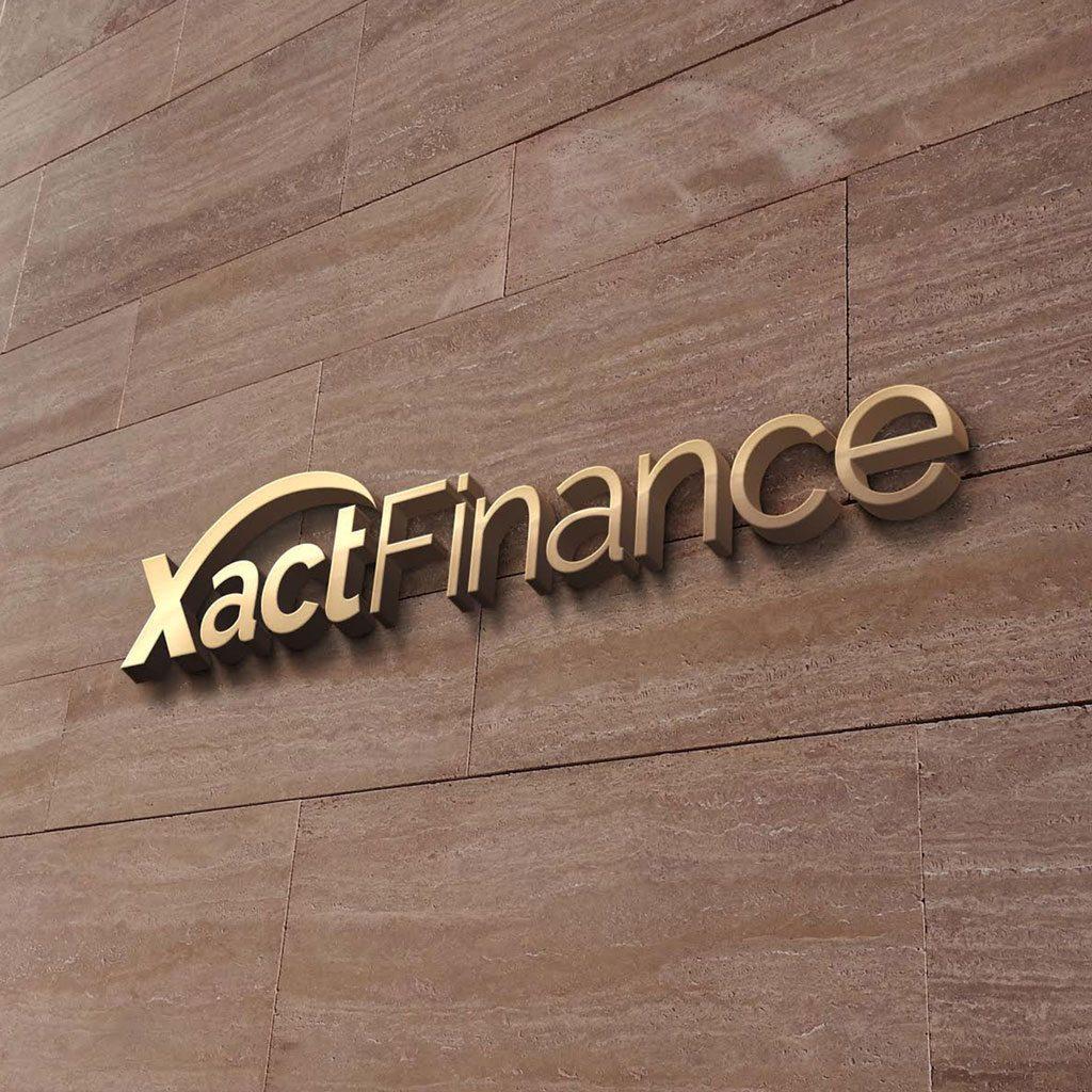 Logo-Design-Brisbane-Portfolio-Xact-Finance