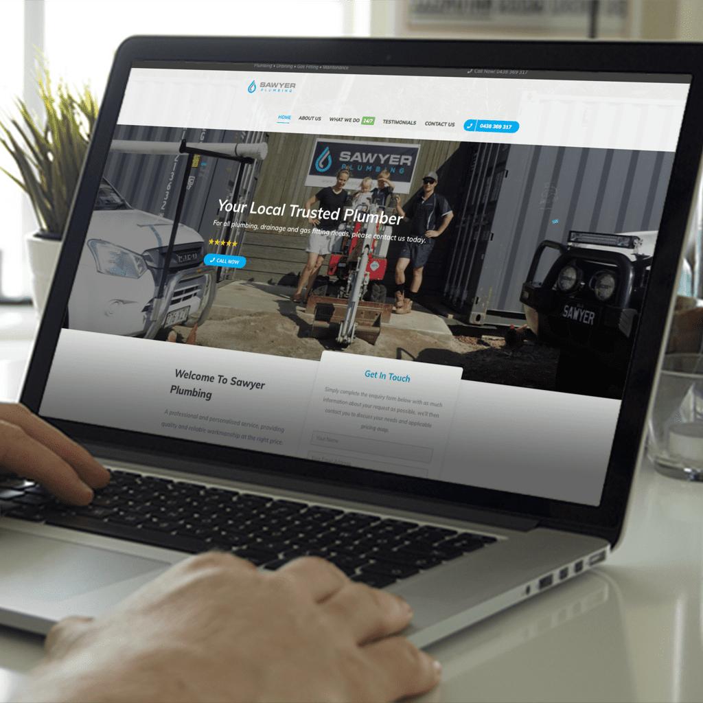 Website-Design-Brisbane-Portfolio Sawyer Plumbing